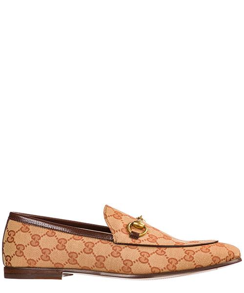 Мокасины Gucci Jordaan 430088 9Y9W0 8369 beige