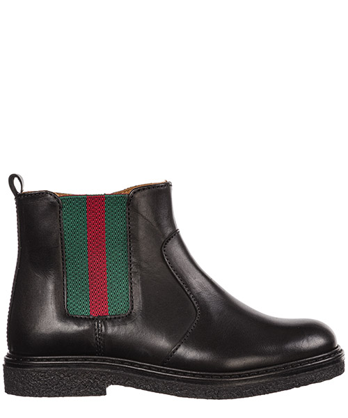 Bottines Gucci 433136 BMN60 1060 nero