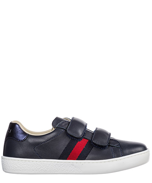Basket Gucci Ace 455448 CPWP0 4070 blu