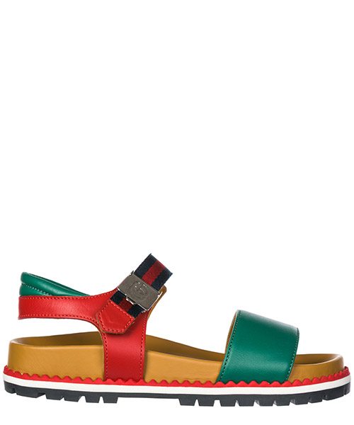 Girls sandals child leather