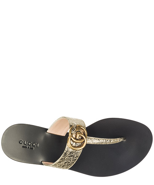 Women's leather flip flops sandals secondary image
