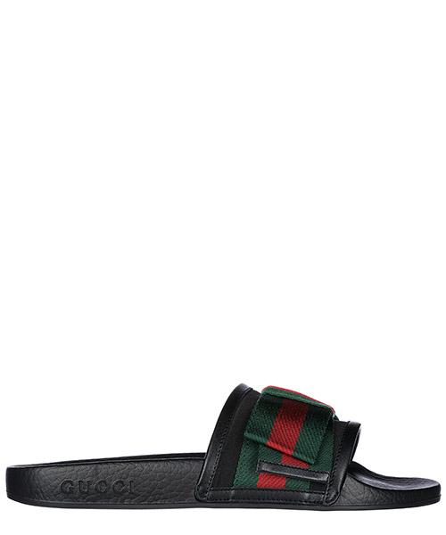 Slides Gucci 498316KLWI01146 nero
