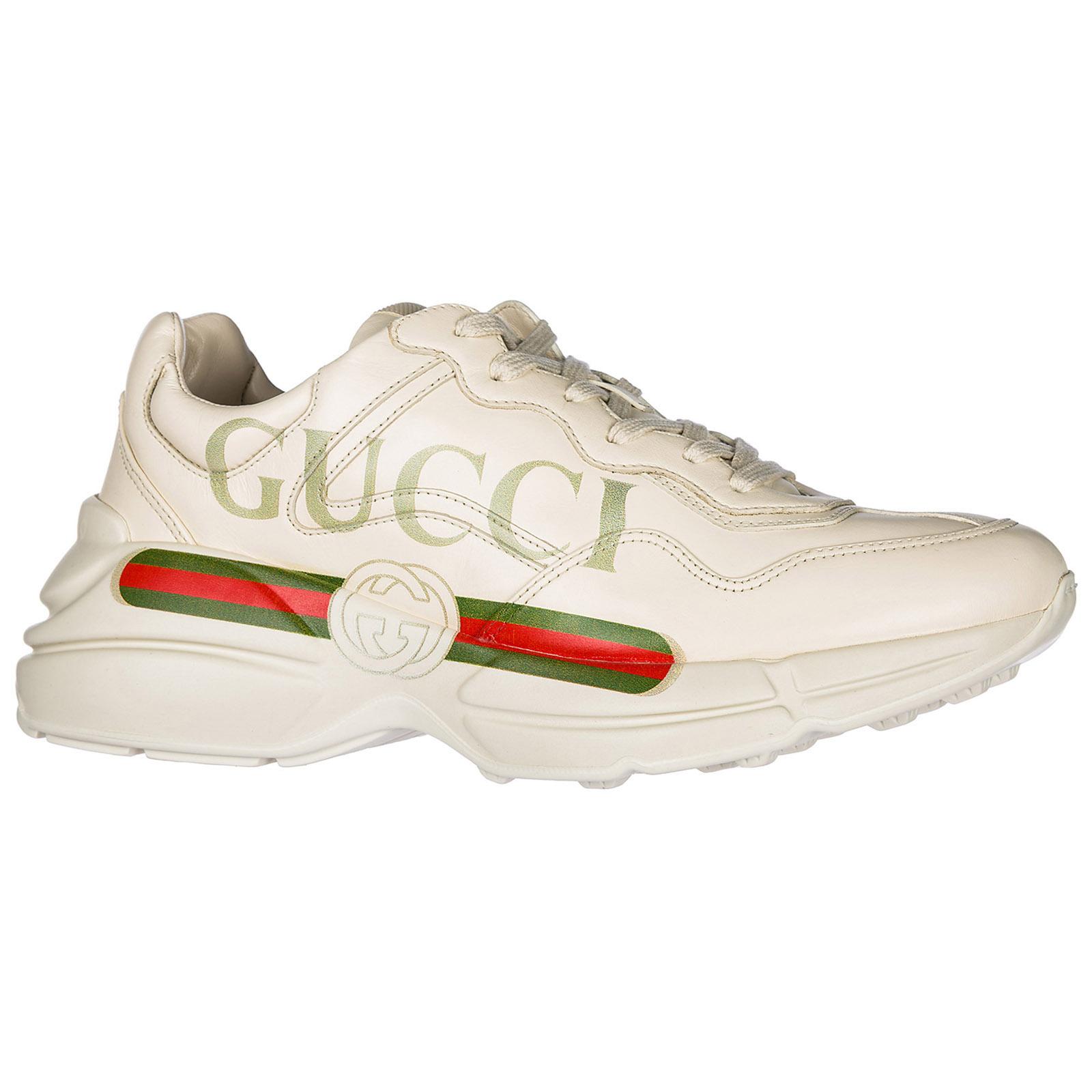 ... Scarpe sneakers uomo in pelle rhyton ... 8c7dd2cd5a5