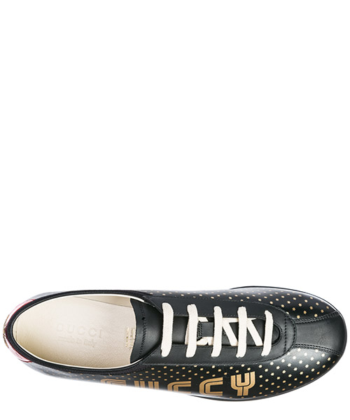 Herrenschuhe herren leder schuhe sneakers limited edition secondary image
