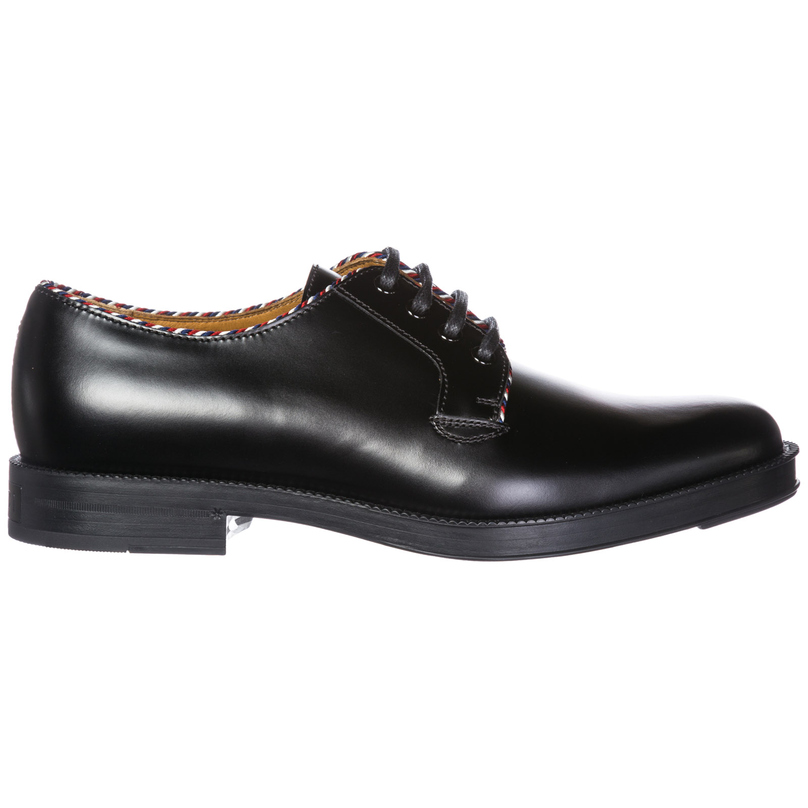 Men's classic leather lace up laced formal shoes derby
