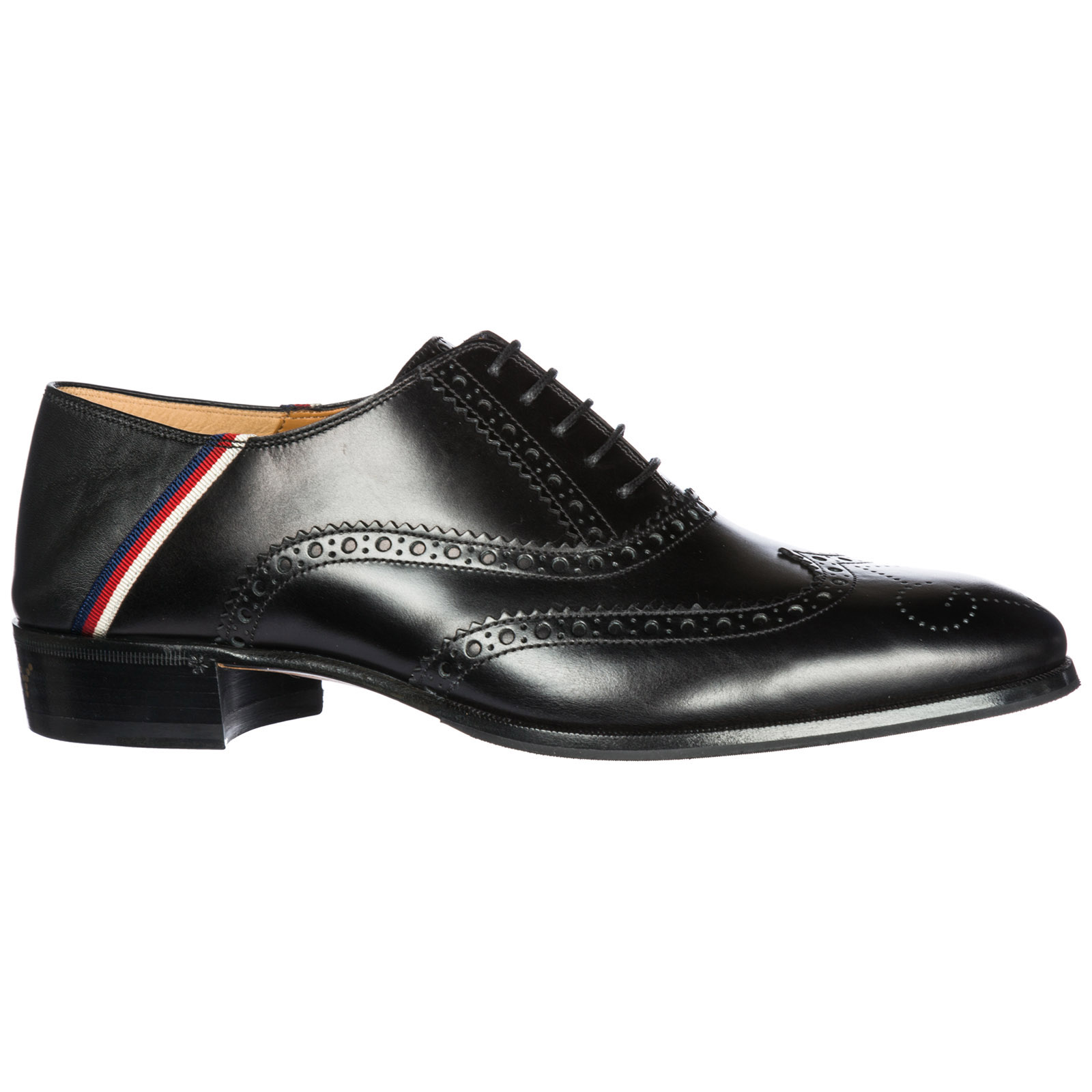 Men's classic leather lace up laced formal shoes brogue sylvie web