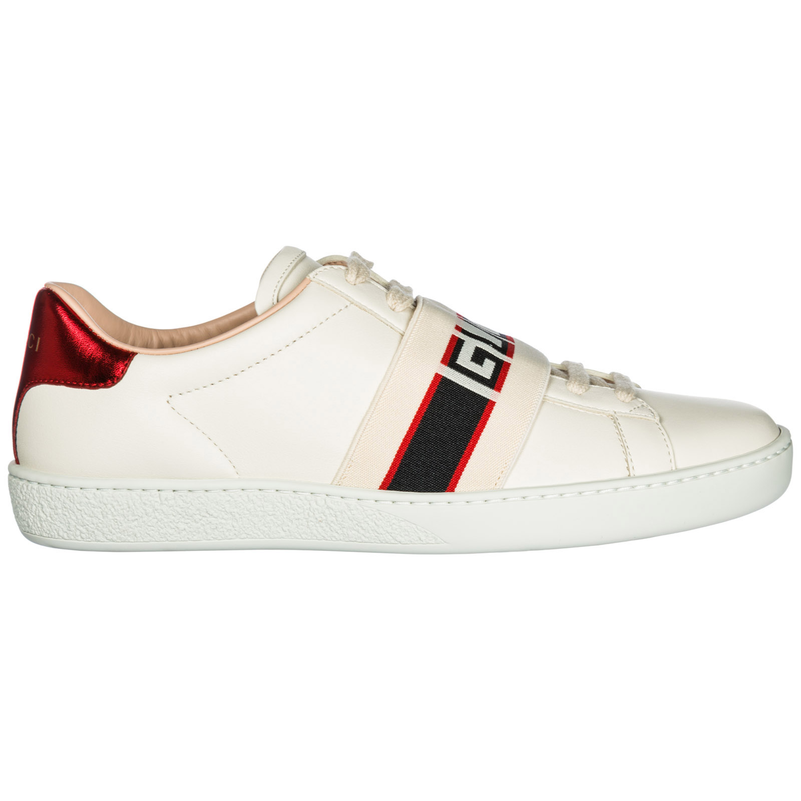 Sneakers Gucci Ace 525269 0FIV0 9086 bianco  3af9565d5574