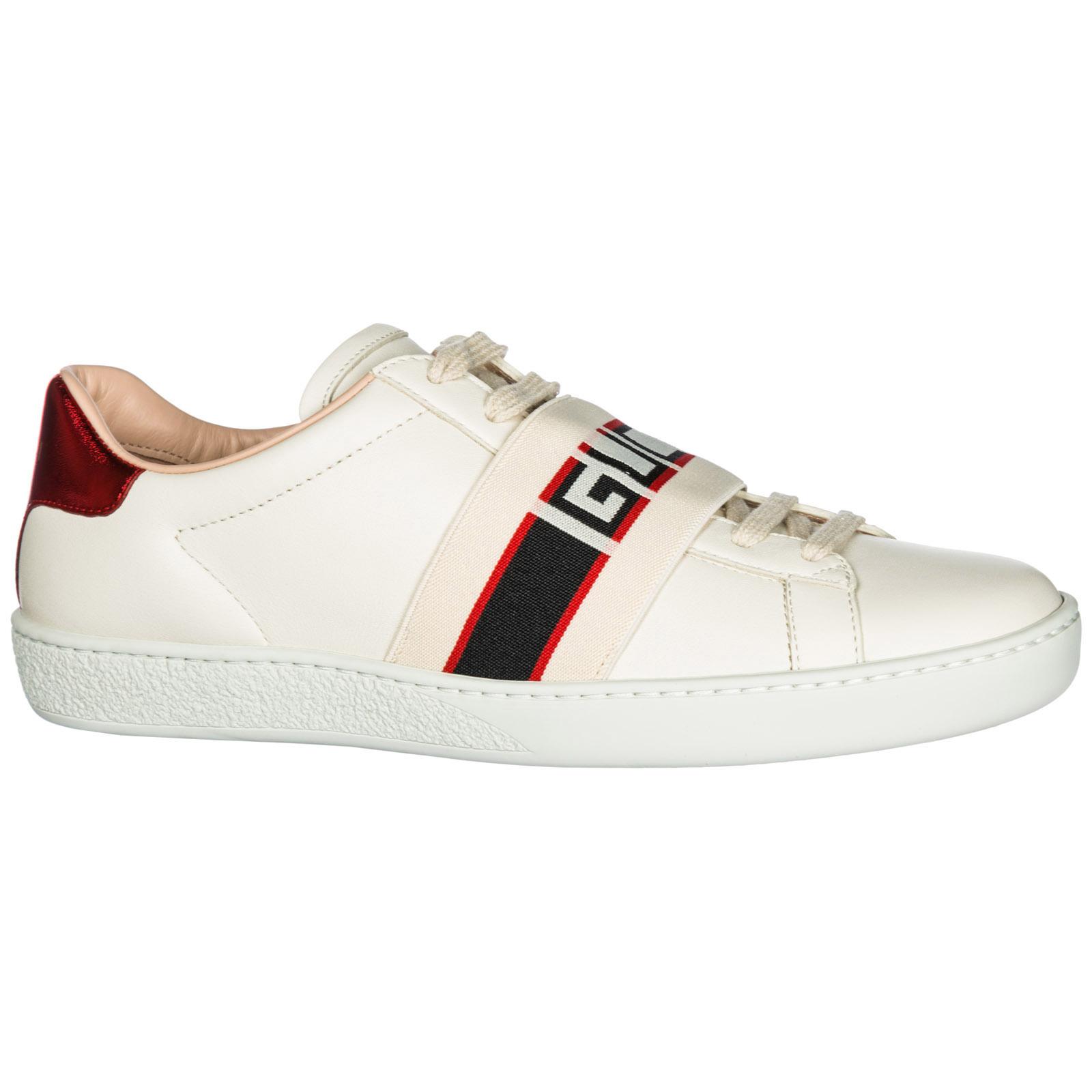 Zapatillas deportivas Gucci Ace 525269 0FIV0 9086 bianco  f3f3835f316
