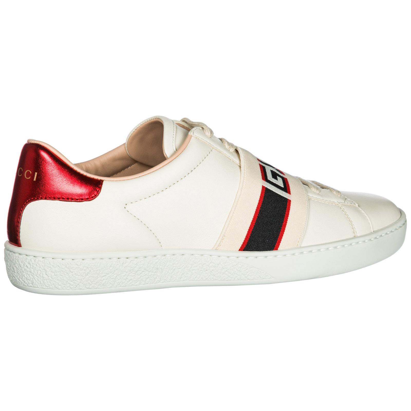 9c431546d65 ... Chaussures baskets sneakers femme en cuir ace ...