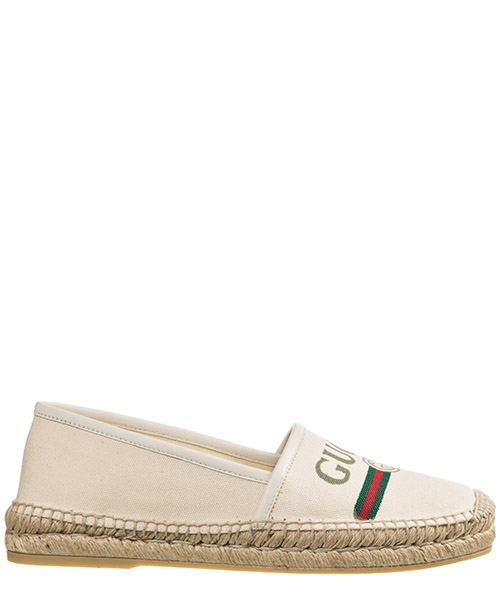 Espadrillas Gucci 525882 9SJ10 9074 bianco