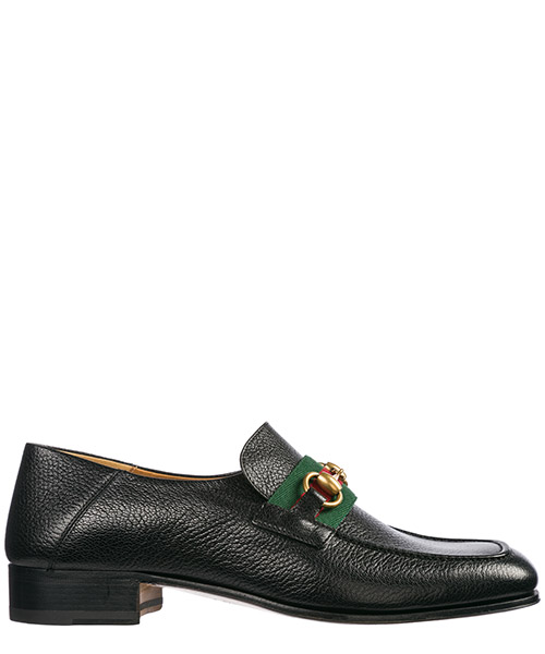 Mokassins Gucci Horsebit 5452770YL101060 nero