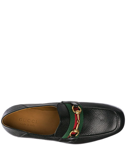 Herren leder mokassins slipper  horsebit secondary image