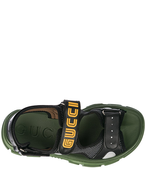 Men's leather sandals secondary image