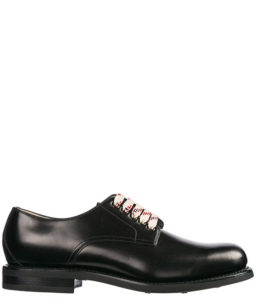 Zapatos de cordon Gucci 547656 0GQ00 1000 nero