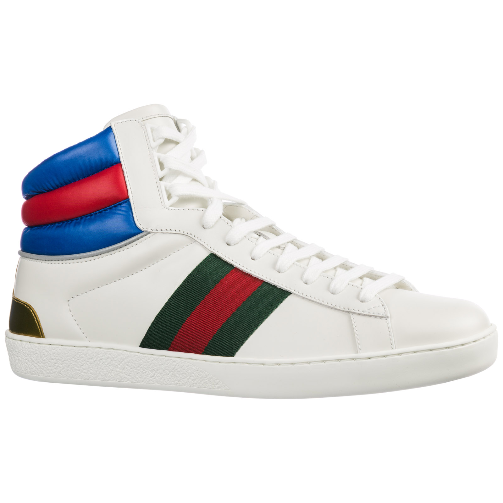 Sneakers alte Gucci Ace 548689 0RDQ0 9060 bianco  ad507b77a3fb