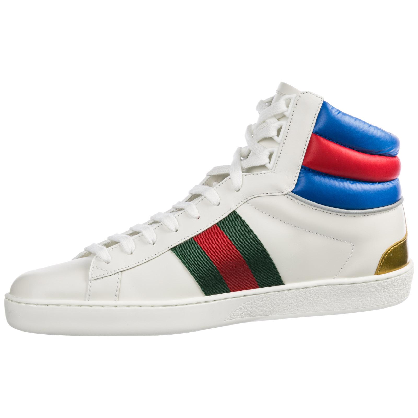 382effa6d54 ... Chaussures baskets sneakers hautes homme en cuir ace ...