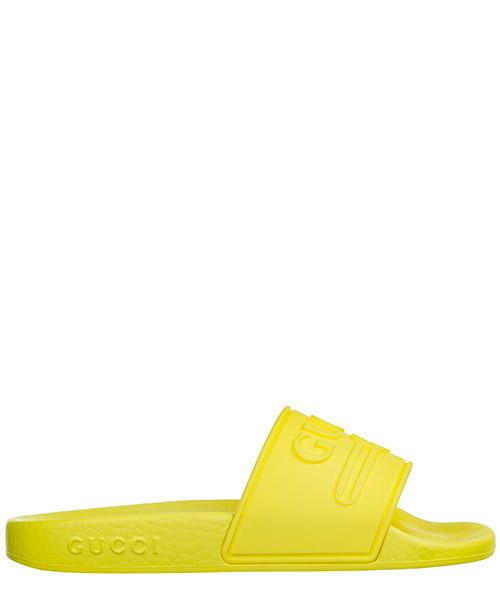 Pantoletten Gucci 553073 J8700 7205 giallo