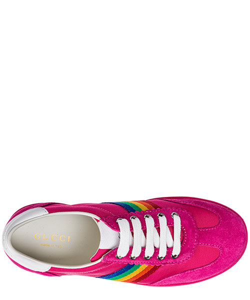Girls shoes baby child sneakers camoscio secondary image