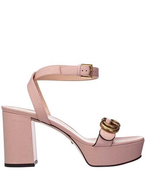 Sandalen Gucci doppia g 573022 a3n00 5909 rosa