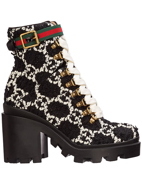 Heeled ankle boots Gucci 583349 hs810 1193 nero
