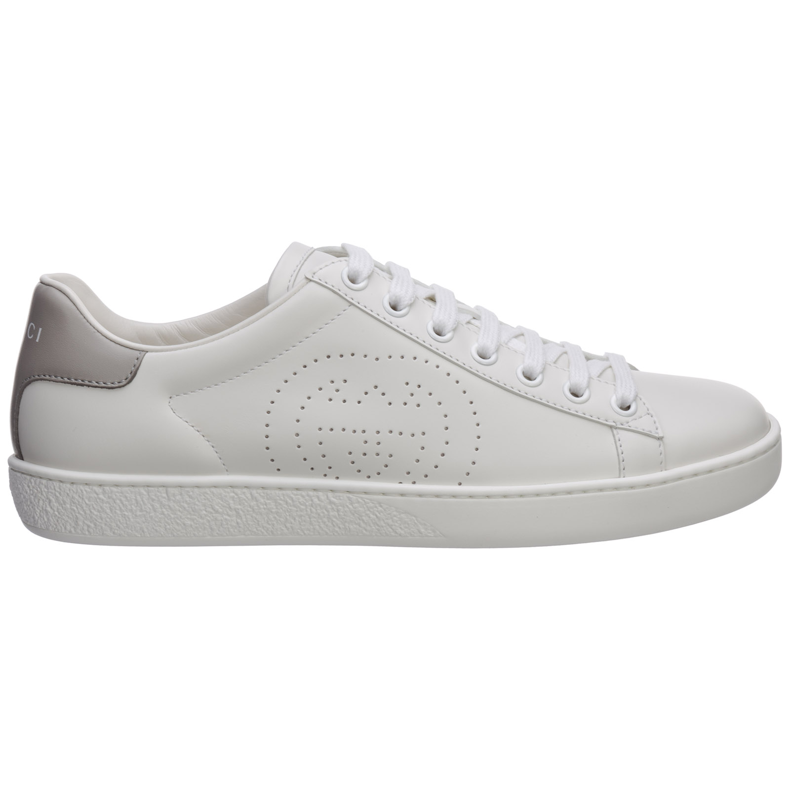 Gucci WOMEN'S SHOES LEATHER TRAINERS SNEAKERS ACE GG