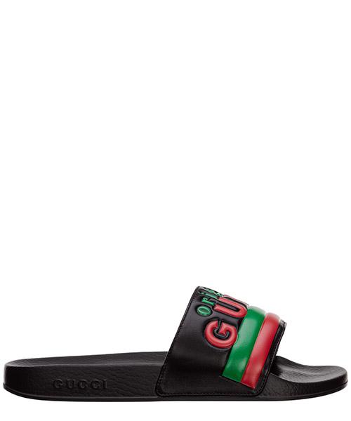 Pantoletten Gucci 632183dir001000 nero