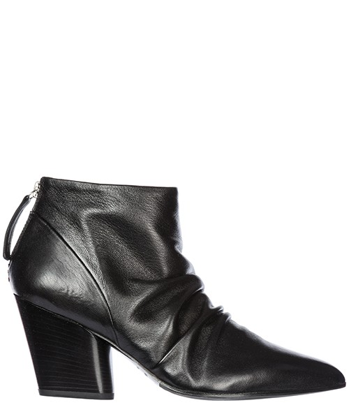 Heeled ankle boots Halmanera Rouge 12 ROUGE1229BARONNE nero