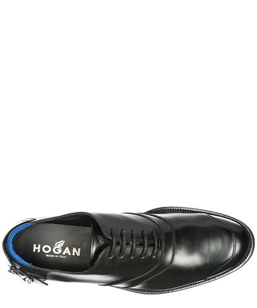 классические туфли на шнурках мужские кожаные h240 secondary image