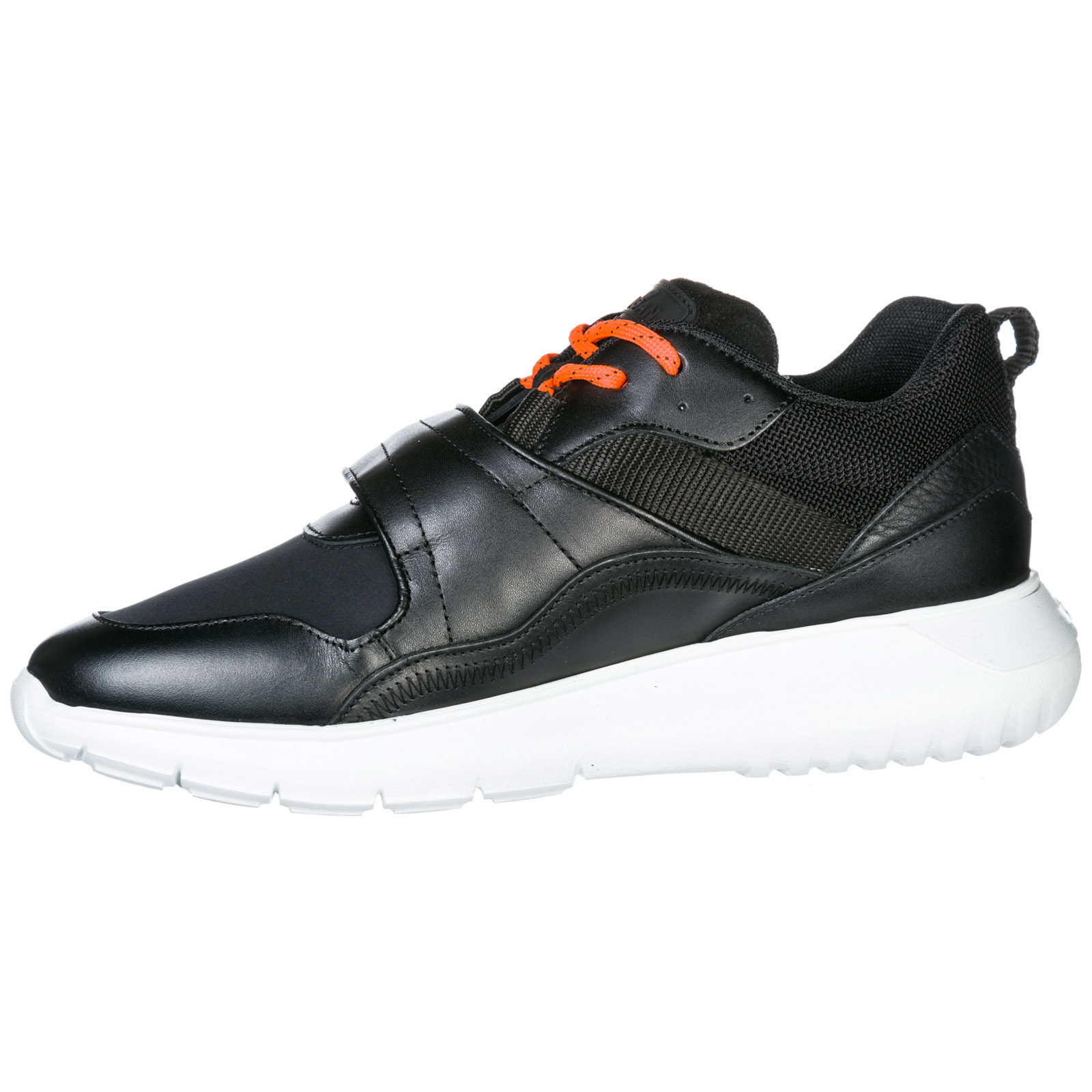 90ca2816136ea ... Men s shoes leather trainers sneakers interactive3 memory foam ...