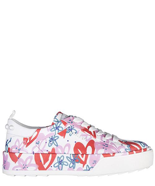 Sneakers Hogan H320 GYW3200Y450GYR1147 bianco - rosso