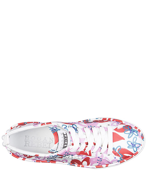 Scarpe sneakers donna in pelle r320 35mm sole secondary image