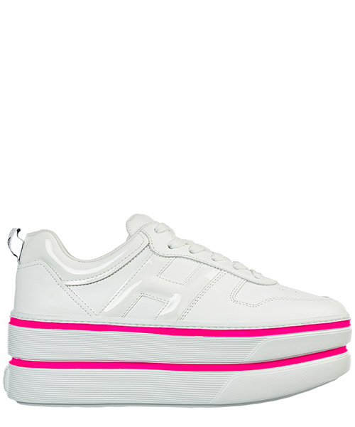 Wedge sneakers Hogan h449 gyw4490bs00i6s9997 bianco