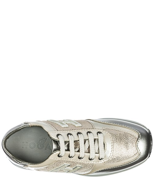 Girls shoes child leather sneakers interactive h flock secondary image