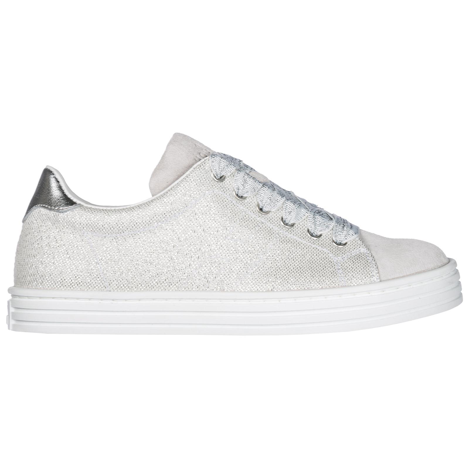 279efc184a68 Sneakers Hogan R141 HXC1410Z370IY10XTR argento   FRMODA.com