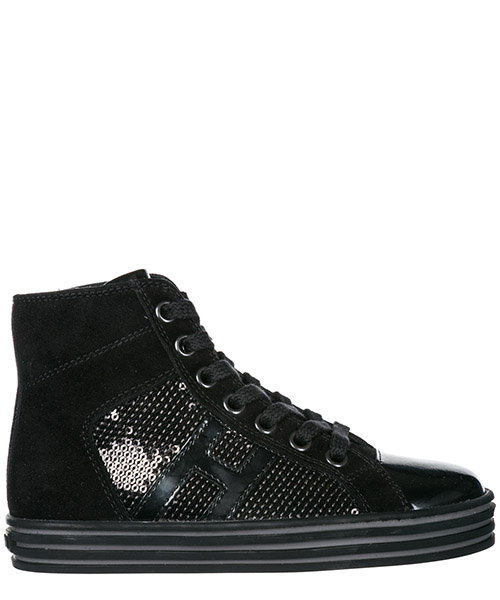 High top sneakers Hogan R141 HXC14108012J2KB999 nero