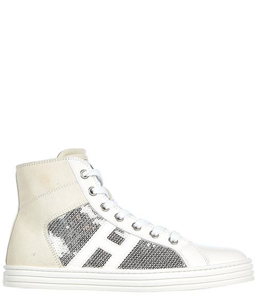High top sneakers Hogan R141 HXC1410801355OB001 bianco