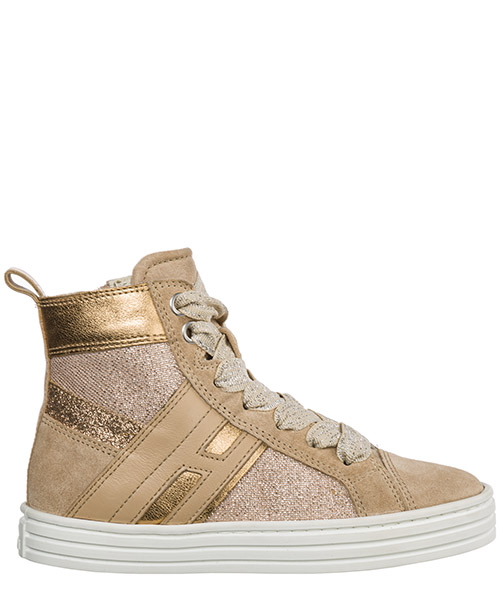 High-top sneakers Hogan r141 hxc1410k220ics0kls beige