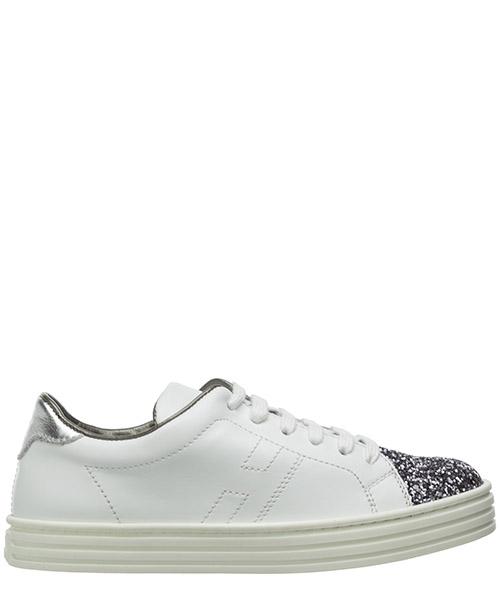 Sneaker Hogan r141 hxc1410z370hub533g bianco