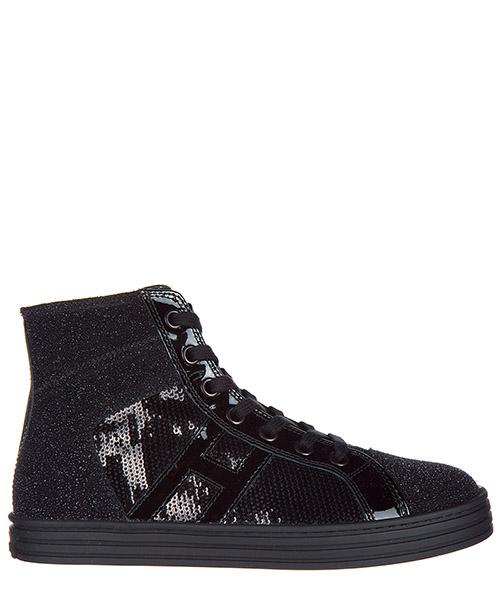 Sneakers alte Hogan R141 HXC1410Z270HAWB999 nero