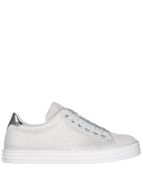 Sneakers Hogan R141 HXC1410Z370IY10XTR argento