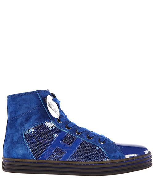 Высокие кроссовки Hogan HXC1410801255O458G blu