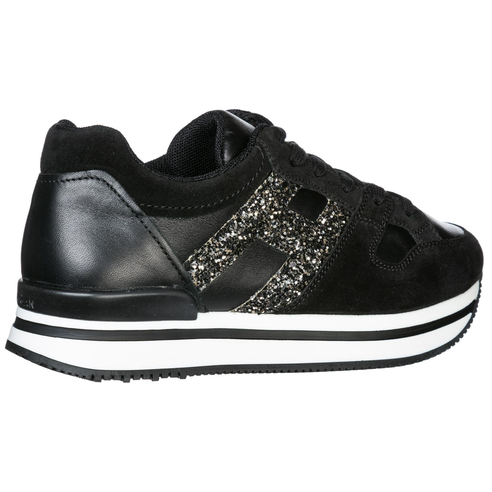 Sneakers Hogan H222 HXC2220T548GAC09TP nero  16bfcb10d0d