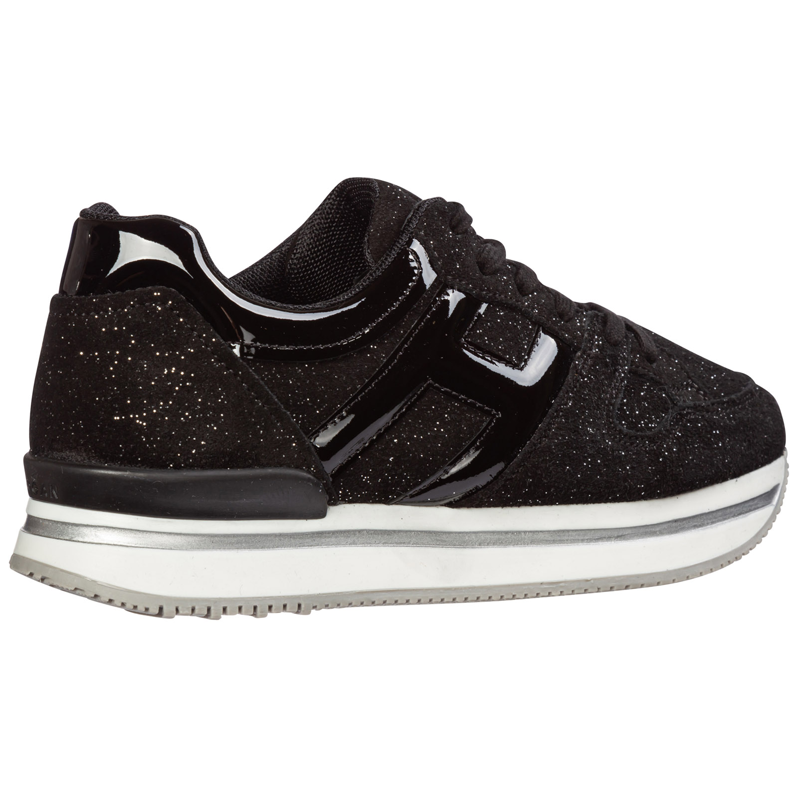 Girls shoes child suede leather sneakers h222