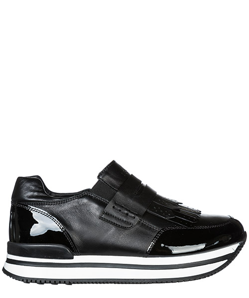Scarpe slip on Hogan J222 HXC2220AW50JSOB999 nero
