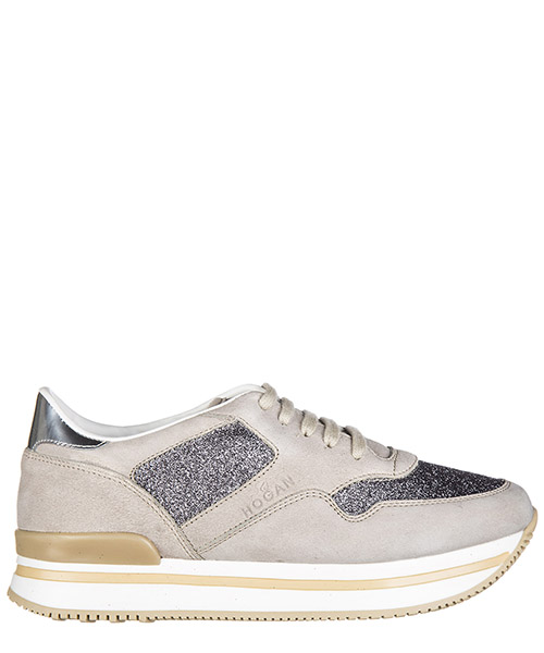 Wedge sneakers Hogan H222 HXC2220N627G440QZ9 beige