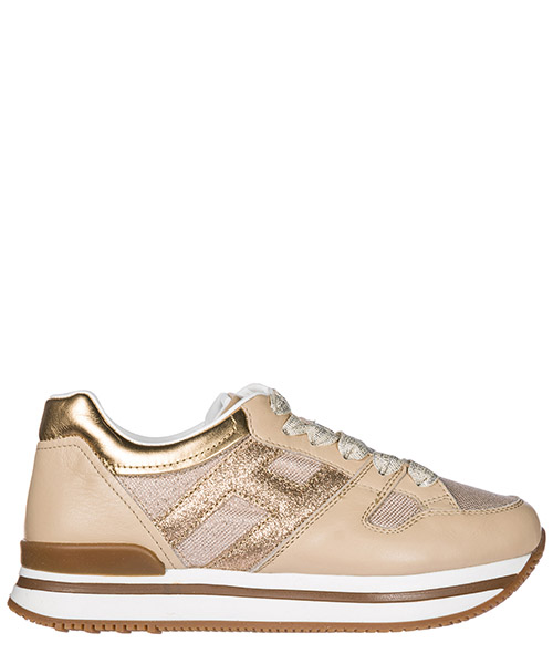 Wedge sneakers Hogan HXC2220T548IBV0PAO beige
