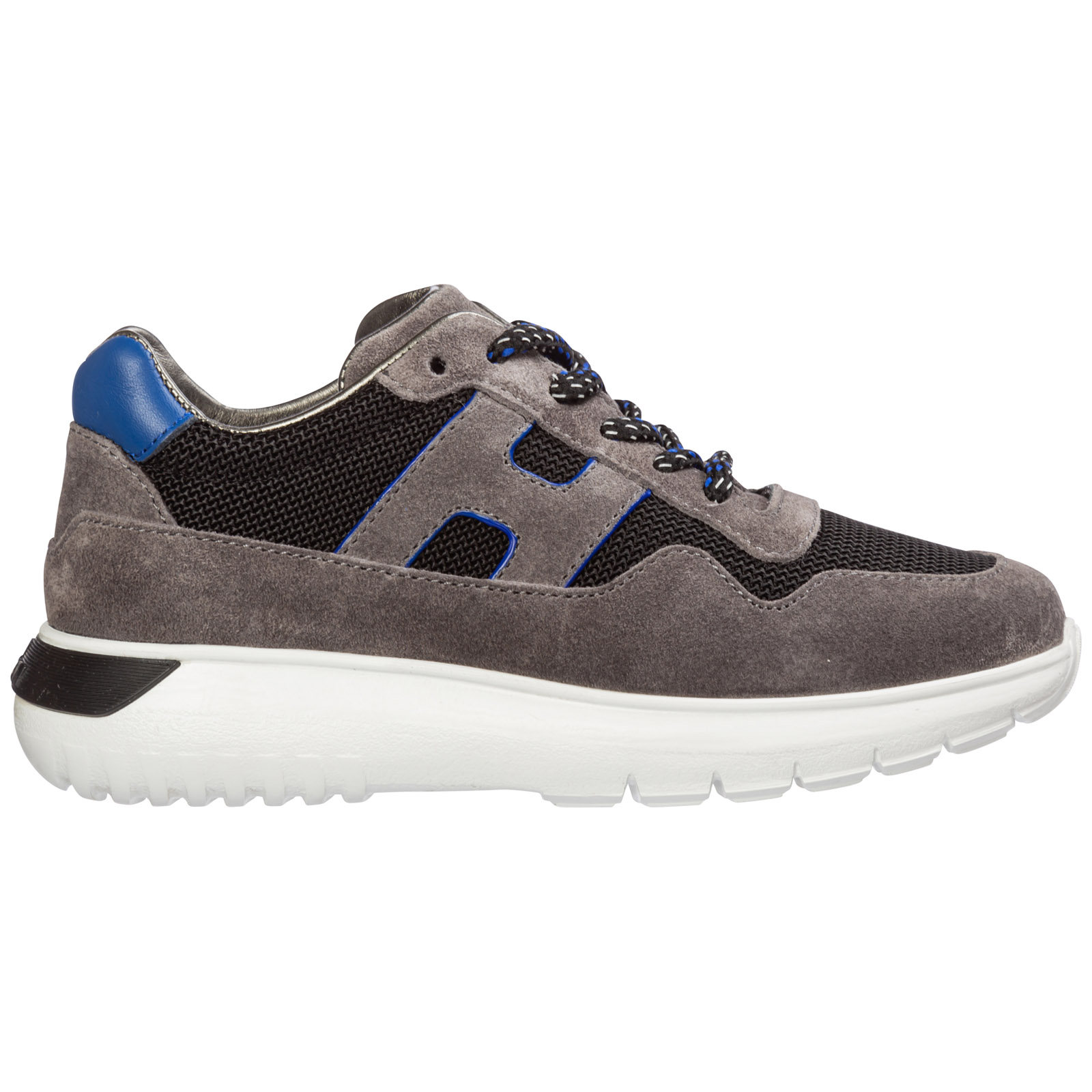 Hogan Sneakers BOYS SHOES CHILD SNEAKERS SUEDE LEATHER INTERACTIVE3