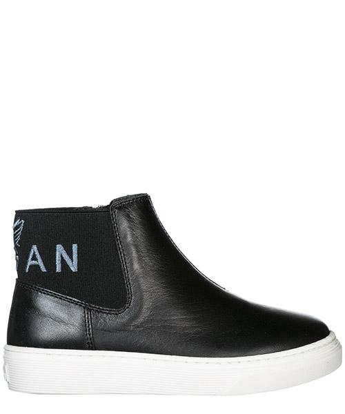Sneakers alte Hogan j340 HXC3400AV30FH5B999 nero