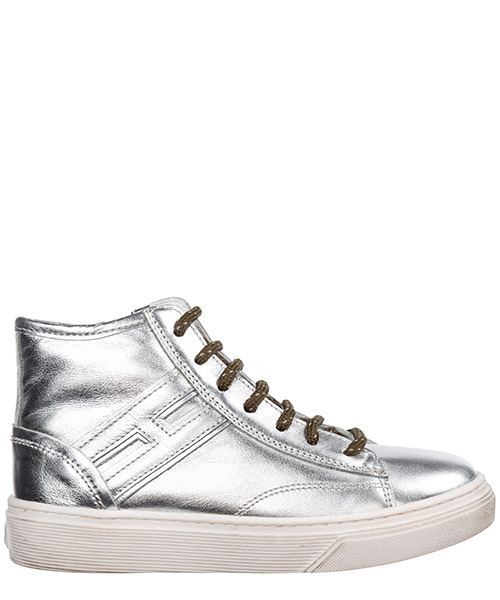 High-top sneakers Hogan j340 hxc3400k371fh0b200 argento