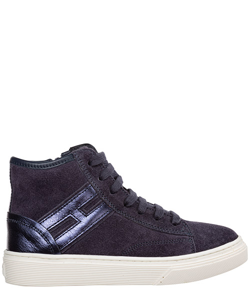 High-top sneakers Hogan j340 hxc3400k371jfo2931 blu denim